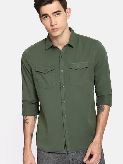 cfae8d39ddf Cotton Shirts - Buy Cotton Shirt Online in India