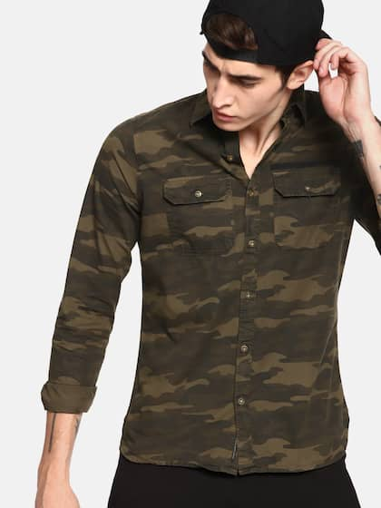 4442adf0cc82 Camouflage Shirts - Buy Camouflage Shirts online in India