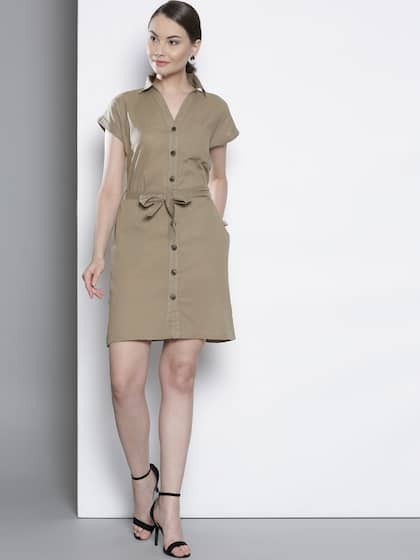 22e8a30712 Linen Cotton Dresses - Buy Linen Cotton Dresses online in India
