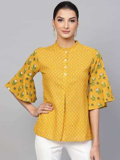 27ab15fbdc8 Ethnic Tops - Buy Ethnic Wear for Women Online in India