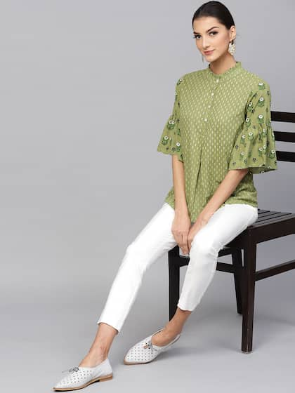 1d419609af Tunics for Women - Buy Tunic Tops For Women Online in India
