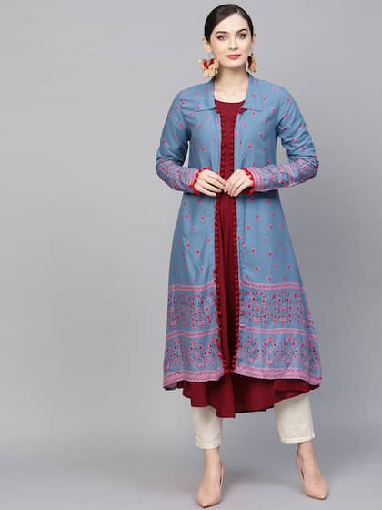 b831cb0a34c Women Ethnic Wear Jackets - Buy Women Ethnic Wear Jackets online in ...