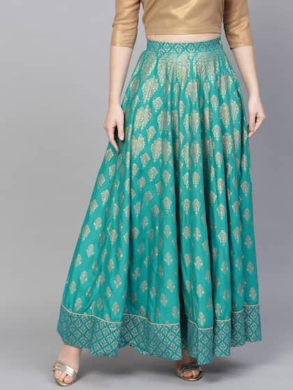 57e059e7aeaa98 Ethnic Long Skirts - Buy Ethnic Long Skirts Online | Myntra