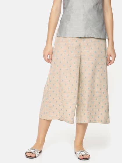 9b545015c02ac Colour Me by Melange. Women Flared Culottes