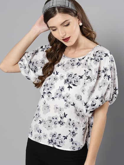 5f86e359510 Floral Print Tops - Buy Floral Print Tops online in India
