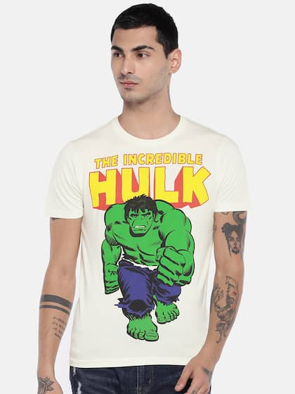 f762571f Buy Superheroes & Cartoons T-shirts Online in India - Myntra