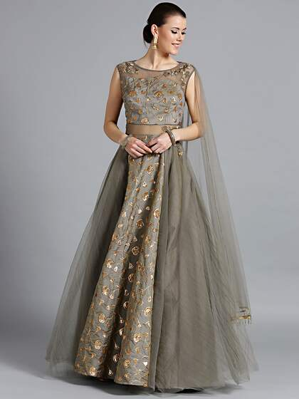 a11d8d45256 Satin Gown - Buy Satin Gown online in India