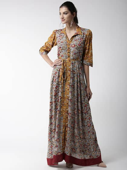 1e7b887c92e08 WoowZerz. Women Printed Maxi Dress