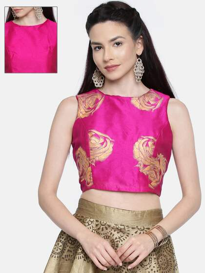 6686578d21240a Ethnic Tops - Buy Ethnic Wear for Women Online in India