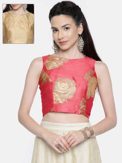 ce37fe513 Gold Tops - Buy Gold Tops online in India