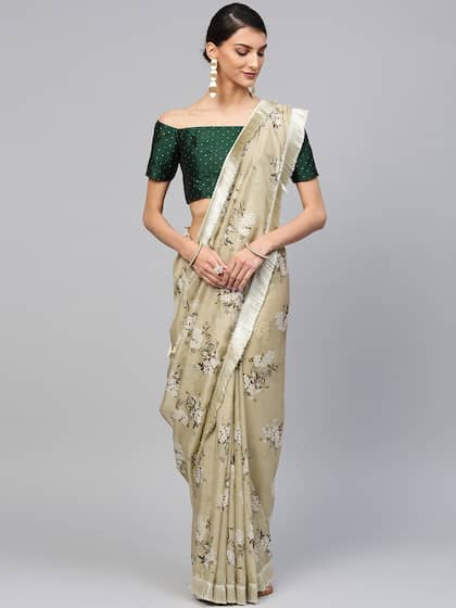 eb178d5a56 Printed Saree - Buy Printed Sarees for Women Online in India | Myntra