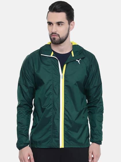 f5ec737412aa Puma Olive Green Jackets - Buy Puma Olive Green Jackets online in India