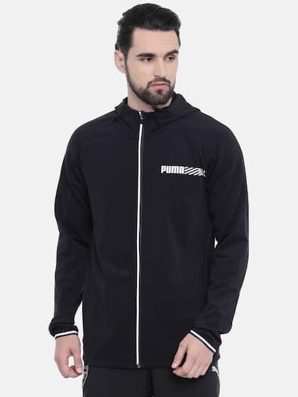 169ea3209f6 Puma. Men Solid Sporty Jacket