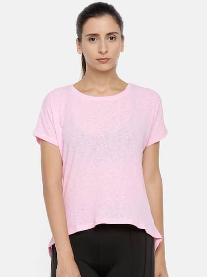 dc5b300689a Puma Women Pink Tshirt Tshirts - Buy Puma Women Pink Tshirt Tshirts ...