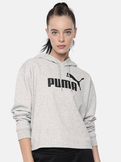 best website 80049 e476f Puma. Printed ESS+ Logo Sweatshirt