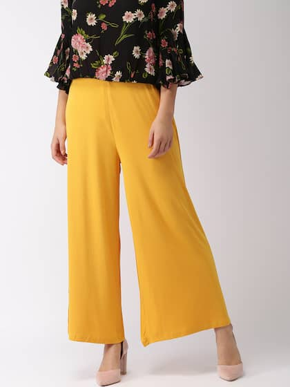 Palazzos Buy Palazzo Pants Online For Women Myntra