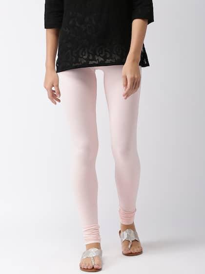 2650d9aa96cad Pink Leggings - Buy Pink Leggings Online in India