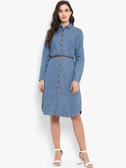 5a4128da49 Denim Dresses - Buy Denim Dresses Online in India