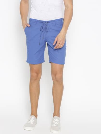 18d4b6e83b 3/4 Shorts - Buy 3/4 Shorts For Men & Boys Online   Myntra