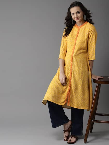 0a57f9188d Asymmetric Kurtas - Buy Asymmetric Kurtas online in India