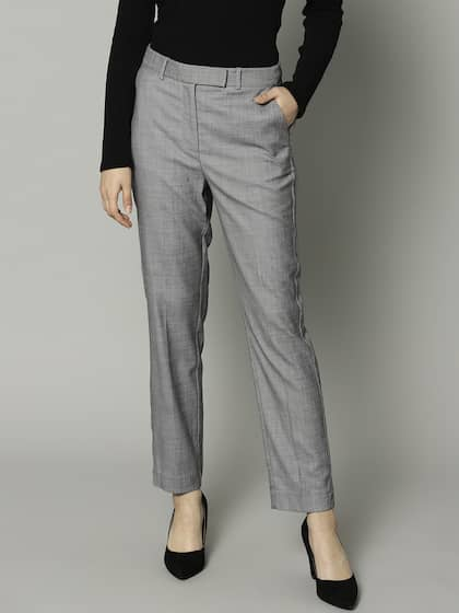 d9cf0f39962b1 Marks   Spencer Trousers - Buy Marks   Spencer Trousers online in India