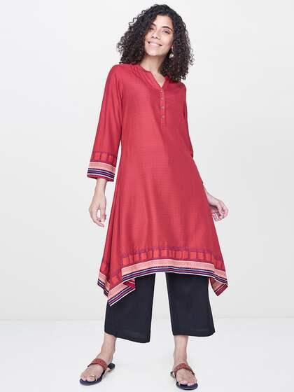 0632f360940d Kurtas With Collar - Buy Kurtas With Collar online in India