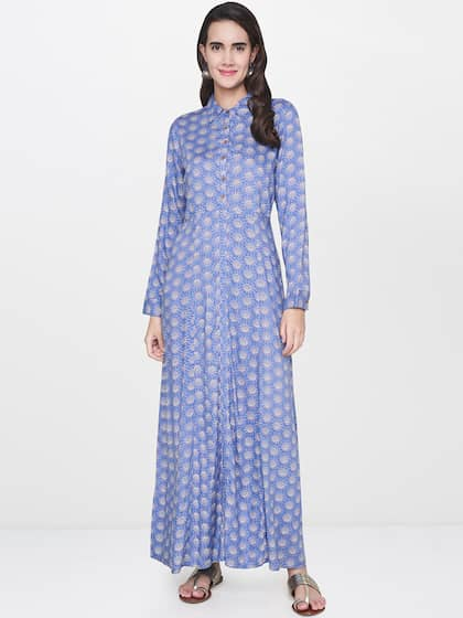 b59b319adfe Global Desi. Women Printed Maxi Dress