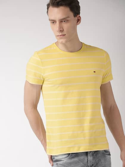 e65d2493 Tommy Hilfiger Yellow Tshirts - Buy Tommy Hilfiger Yellow Tshirts ...