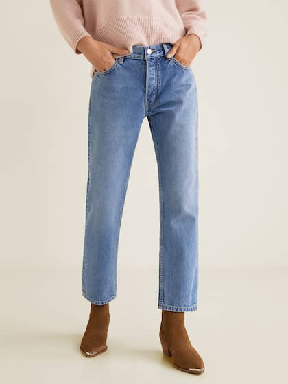 17f81ef9583d3 MANGO. Women Straight Fit Jeans