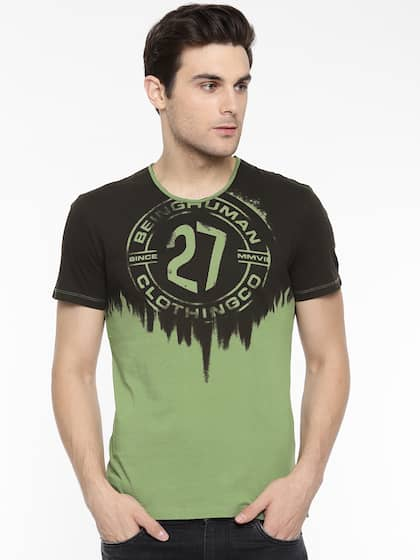 57239fdec76 Buy Being Human T-Shirts Online For Men At Myntra