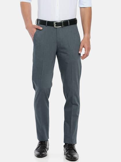 Peter England. Men Slim Fit Formal Trousers. Sizes  30 ... 781496b831c4