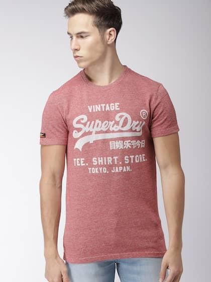 2cc525b5cae5 Superdry. Printed Round Neck T-shirt