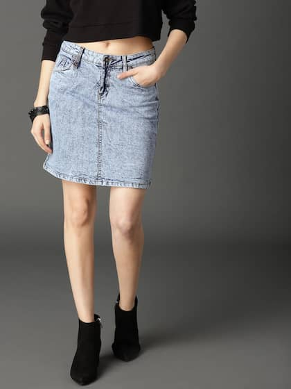 d73ff72e12d Denim Skirts - Buy Denim Skirts for Women Online
