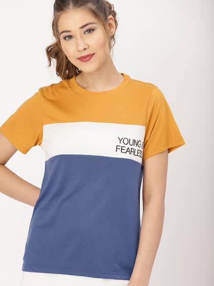 aec51137 T-Shirts - Buy TShirt For Men, Women & Kids Online in India | Myntra