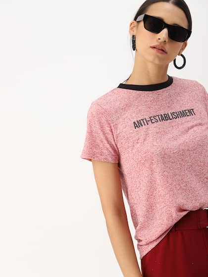 8e27b1c990b Ladies Tops - Buy Tops & T-shirts for Women Online | Myntra