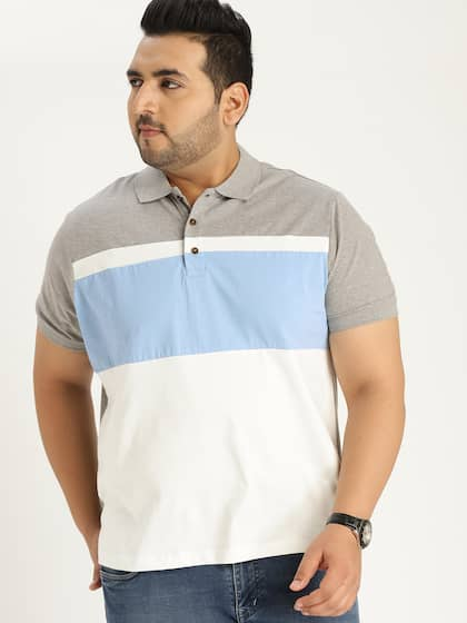 9fb00f9510737e Sztori. Colourblocked Polo Collar T-shirt. Sizes: XL ...
