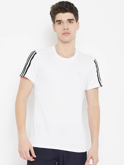 brand new d02dc bd946 ADIDAS. Running 3-Striped T-Shirt