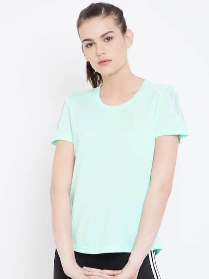 b4391dfc3fbd30 T-Shirts for Women - Buy Stylish Women's T-Shirts Online | Myntra