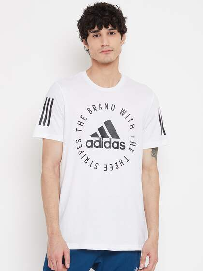 Adidas T Shirts Buy Adidas Tshirts Online in India   Myntra