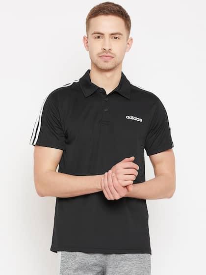 e11b007f2 Adidas Black Collar Tshirts - Buy Adidas Black Collar Tshirts online ...