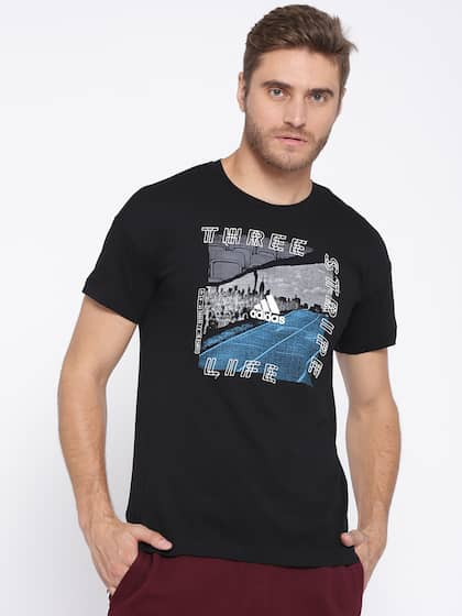 a07032086bdb Adidas T-Shirts - Buy Adidas Tshirts Online in India | Myntra