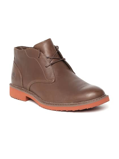 ffc7d56914ff Timberland. BROOKPRK Leather Flat Boots