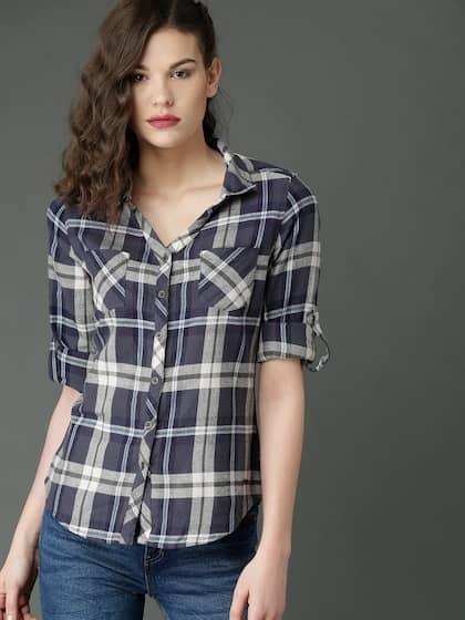 e90d2b14b1c2c Women Shirts - Buy Shirts for Women Online in India