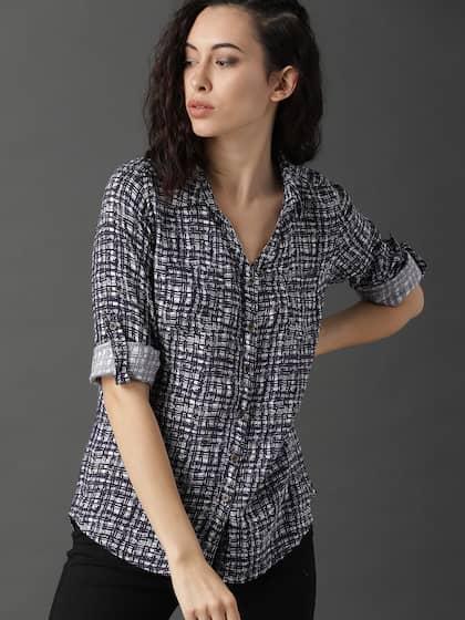 ead306c4835 Women Shirts - Buy Shirts for Women Online in India