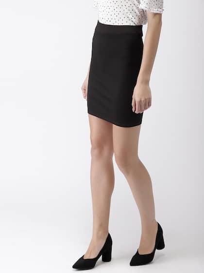 9e83ab9d1b02e7 Pencil Skirt - Buy Pencil Skirt online in India