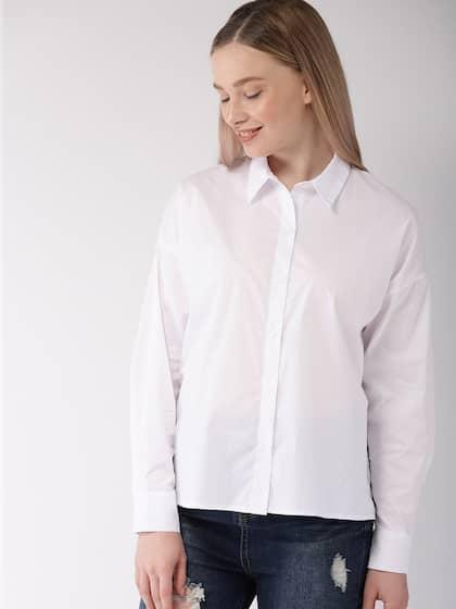 2f1b5aa1f9e8 Women Shirts - Buy Shirts for Women Online in India