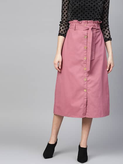 Skirts   Shorts for Women - Buy Ladies Shorts   Skirts Online - Myntra 8d0fcea54