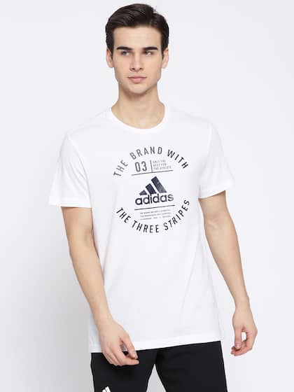 9ea36658e3e Adidas T-Shirts - Buy Adidas Tshirts Online in India | Myntra