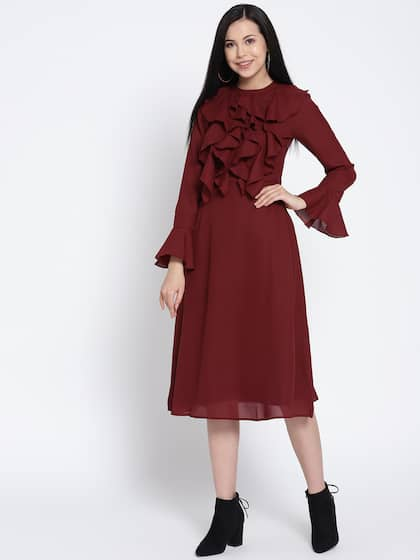 884b9f37ef2 Midi Dress - Buy Midi Dress online in India