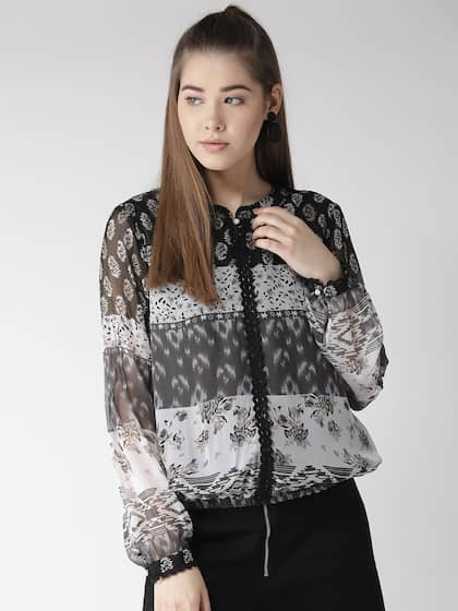 325e1835932a56 Lace Tops - Buy Lace Tops for Women   Girls Online in India